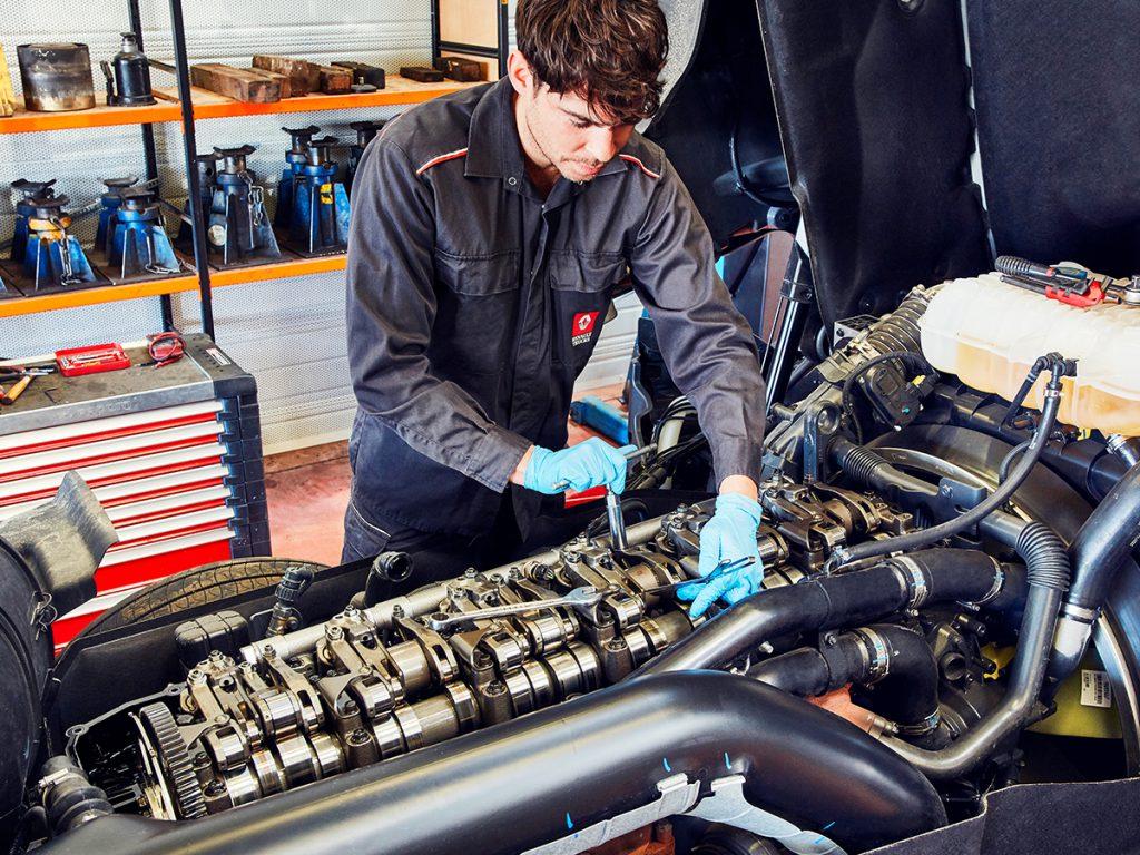 Renault Trucks ofrece financiación en las operaciones de taller