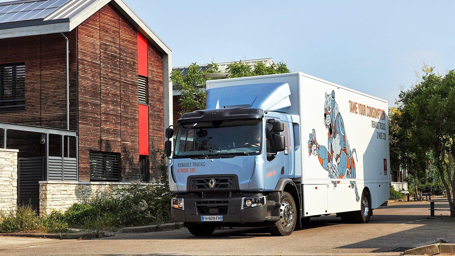 El Renault Trucks D Wide 320: Camión Sostenible del Año 2021